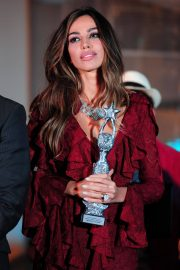 Madalina Diana Ghenea Receives Award at Capri Hollywood Festival 2018/12/29 1