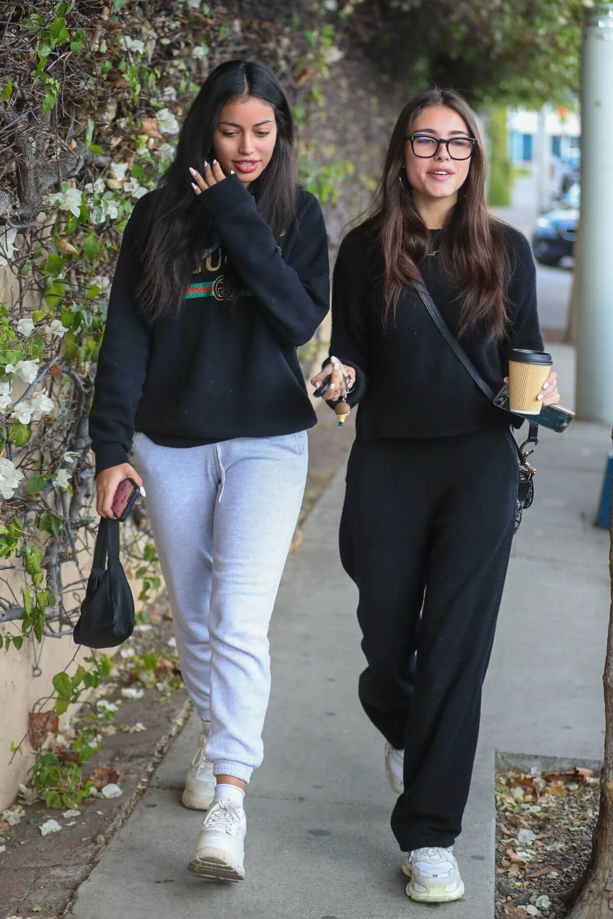 Madison Beer and Cindy Kimberly Out for Lunch in West Hollywood 2018/12/31