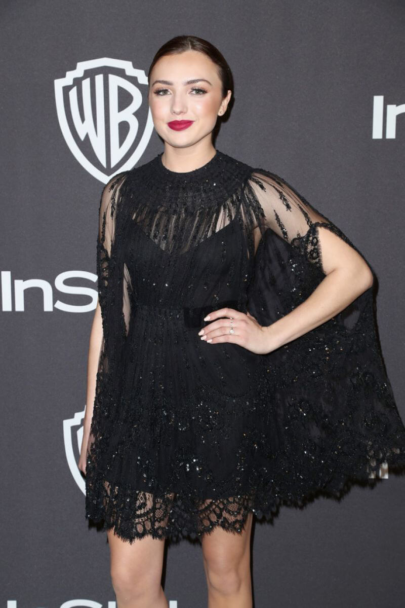 Peyton List at Instyle and Warner Bros Golden Globe Awards Afterparty in Beverly Hills 2019/01/06 1
