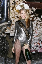 Rachel McCord at New Year Celebration at Crustacean Restaurant in Beverly Hills 2018/12/31 5