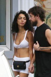 Raven lyn and Jack Dorsey Out Shopping in St Barth 2018/12/30 6