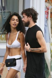 Raven lyn and Jack Dorsey Out Shopping in St Barth 2018/12/30 7