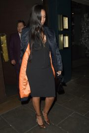 Rihanna Out for Dinner at Ours Restaurant in London 2018/12/28 6