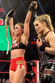 Ronda Rousey vs. Natalya - Raw Women's Championship Match 2018/12/24 1