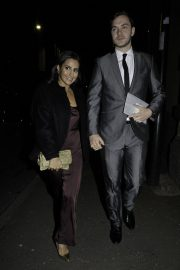 Sair Khan Arrives Tina O'Brien's Wedding Day in Manchester 2018/12/31 1
