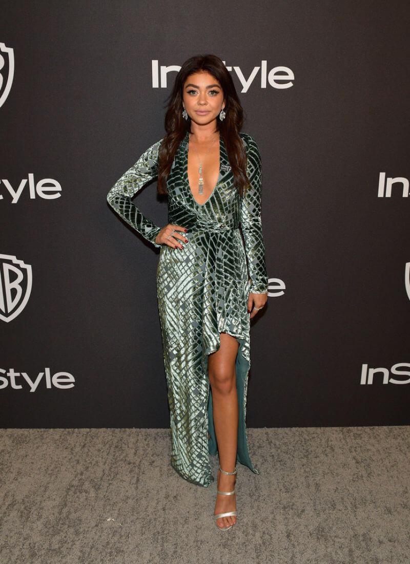 Sarah Hyland at Instyle and Warner Bros Golden Globe Awards Afterparty in Beverly Hills 2019/01/06 1