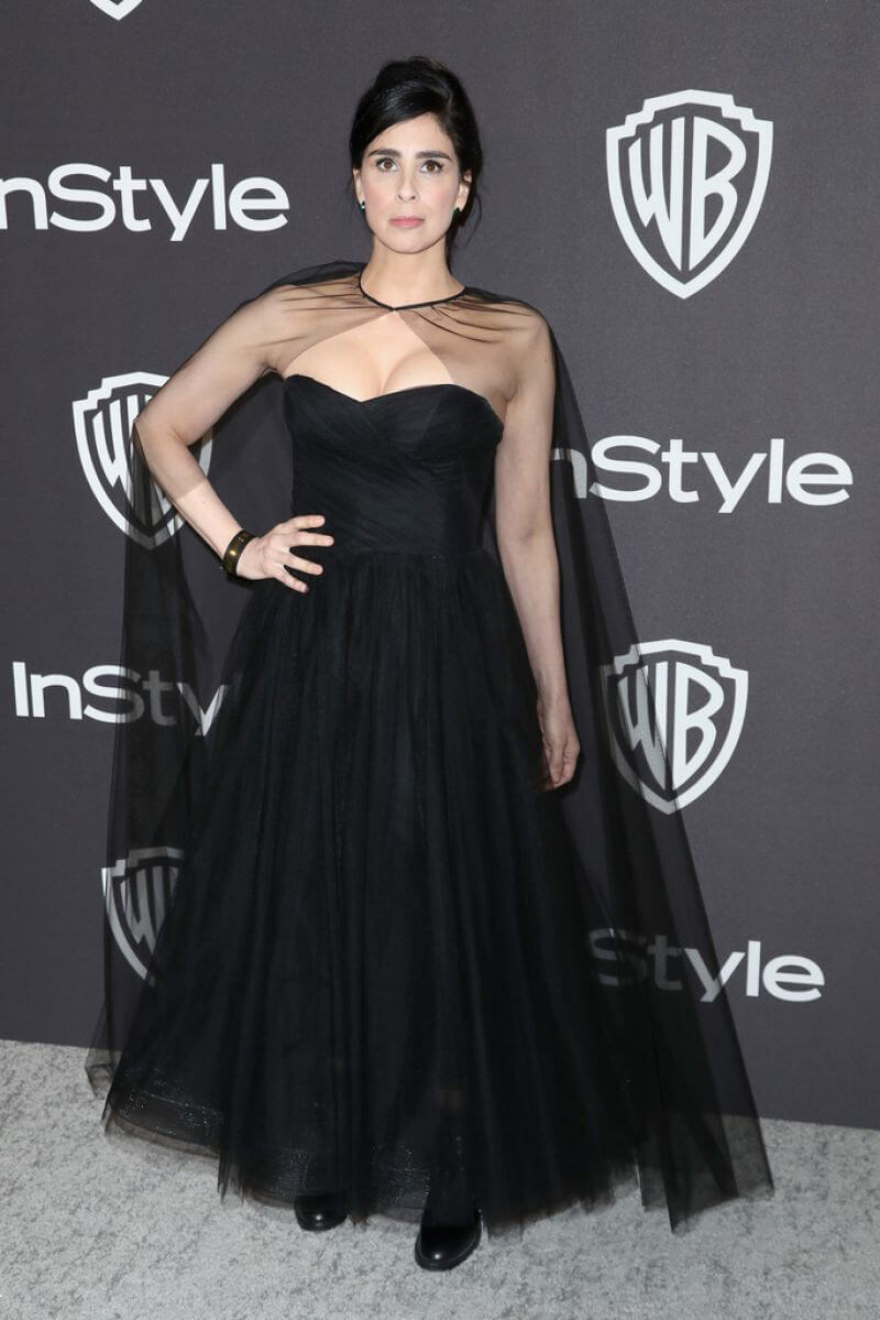 Sarah Silverman at Instyle and Warner Bros Golden Globe Awards Afterparty in Beverly Hills 2019/01/06 1