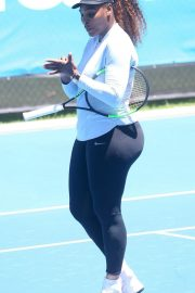 Serena Williams at Training Session in Perth 2018/12/30 1
