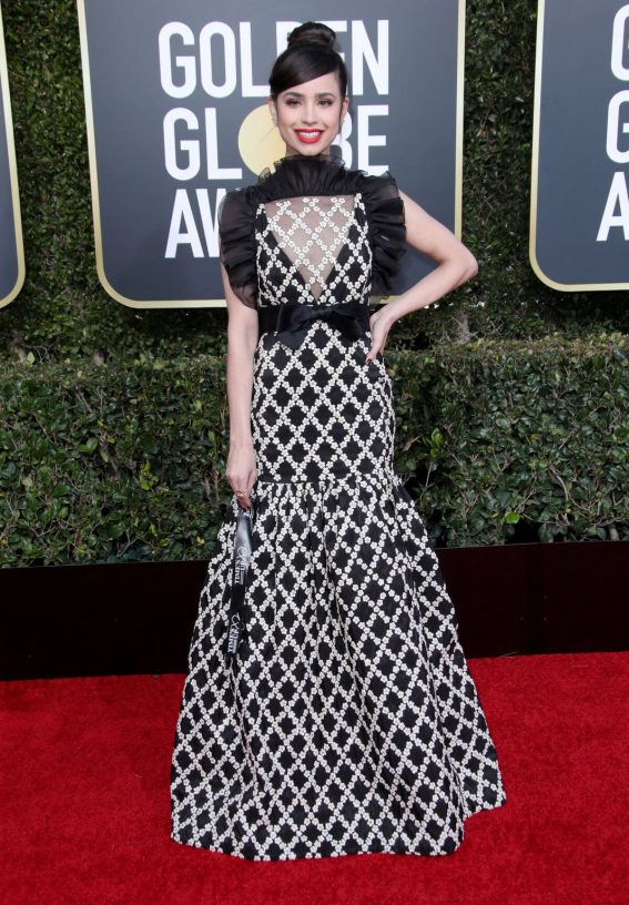 Sofia Carson at 2019 Golden Globe Awards in Beverly Hills 2019/01/06 1
