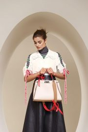 Taylor Hill for Fendi Spring/Summer 2018 Campaign Photos 1