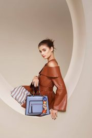 Taylor Hill for Fendi Spring/Summer 2018 Campaign Photos 2
