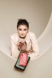 Taylor Hill for Fendi Spring/Summer 2018 Campaign Photos 3