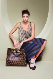 Taylor Hill for Fendi Spring/Summer 2018 Campaign Photos 5