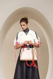 Taylor Hill for Fendi Spring/Summer 2018 Campaign Photos 6