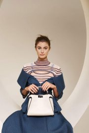 Taylor Hill for Fendi Spring/Summer 2018 Campaign Photos 7
