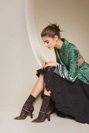 Taylor Hill for Fendi Spring/Summer 2018 Campaign Photos 8