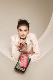 Taylor Hill for Fendi Spring/Summer 2018 Campaign Photos 9
