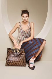 Taylor Hill for Fendi Spring/Summer 2018 Campaign Photos 11