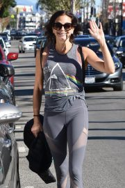 Teri Hatcher in Tights Leaves a Gym in Studio City 2018/12/28 4