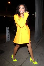 Tinashe at Craig's Restaurant in West Hollywood 2018/12/31 7