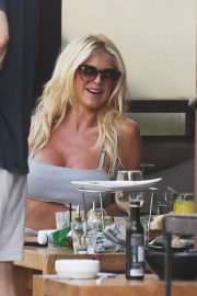 Victoria Silvstedt at Gustavia in St. Barts 2018/12/28 1