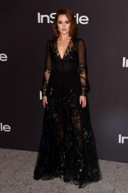 Zoey Deutch at Instyle and Warner Bros Golden Globe Awards Afterparty in Beverly Hills 2019/01/06 1