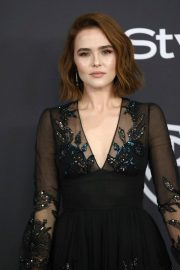 Zoey Deutch at Instyle and Warner Bros Golden Globe Awards Afterparty in Beverly Hills 2019/01/06 2