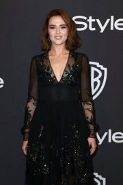 Zoey Deutch at Instyle and Warner Bros Golden Globe Awards Afterparty in Beverly Hills 2019/01/06 3