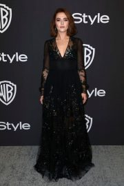 Zoey Deutch at Instyle and Warner Bros Golden Globe Awards Afterparty in Beverly Hills 2019/01/06 5
