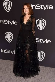 Zoey Deutch at Instyle and Warner Bros Golden Globe Awards Afterparty in Beverly Hills 2019/01/06 6