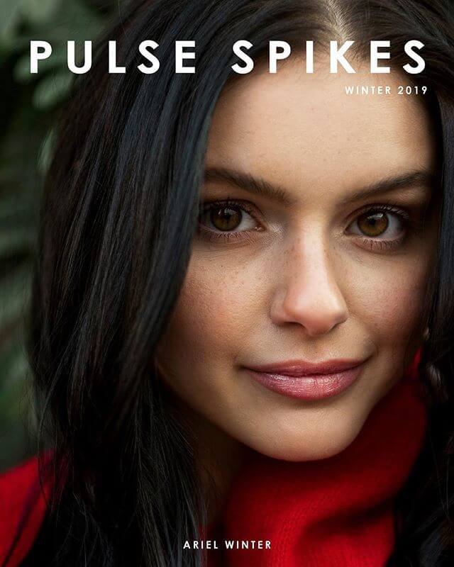 Ariel Winter Photoshoot for Pulse Spikes Magazine Winter 2019 Issue 1