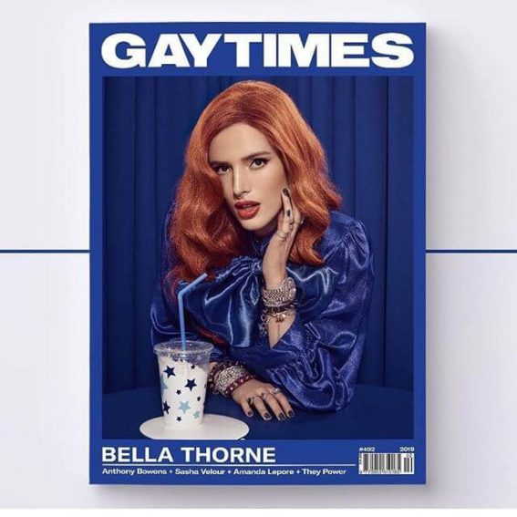 Bella Thorne for GAY TIMES Magazine Photoshoot, February 2019 Issue 1