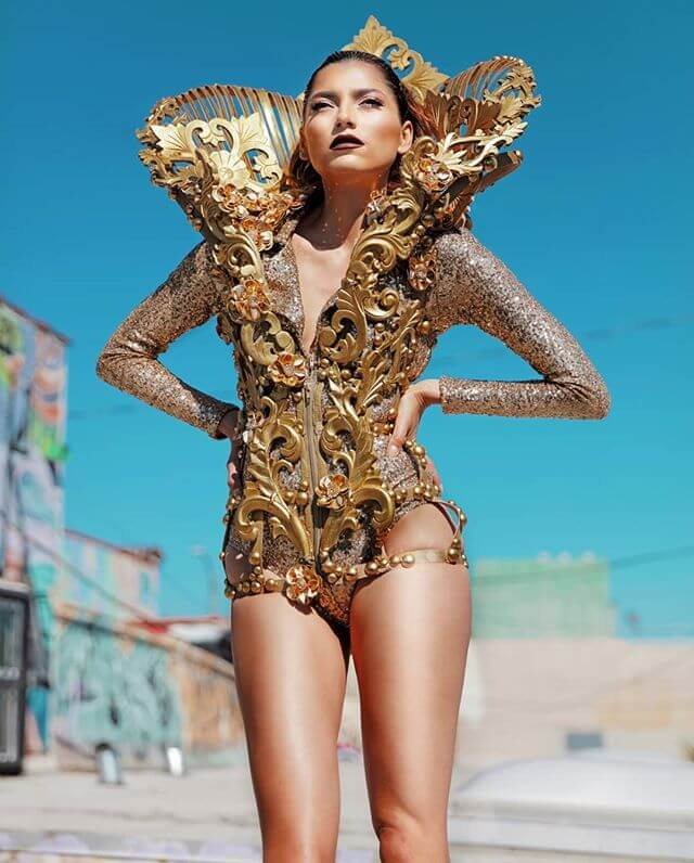 Blanca Blanco Photoshoot in Stylish Dress by Rocky Gathercole - February 14, 2019 2