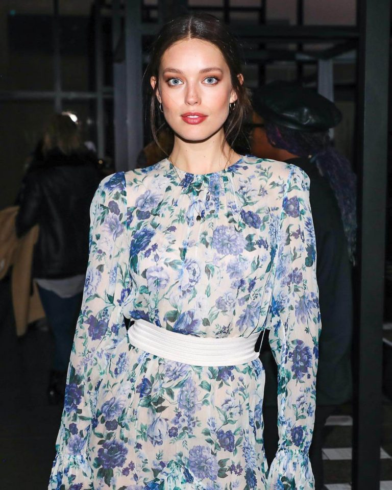 Emily DiDonato attends at Zimmermann show during Spring Studios NYFW – February 12, 2019 1
