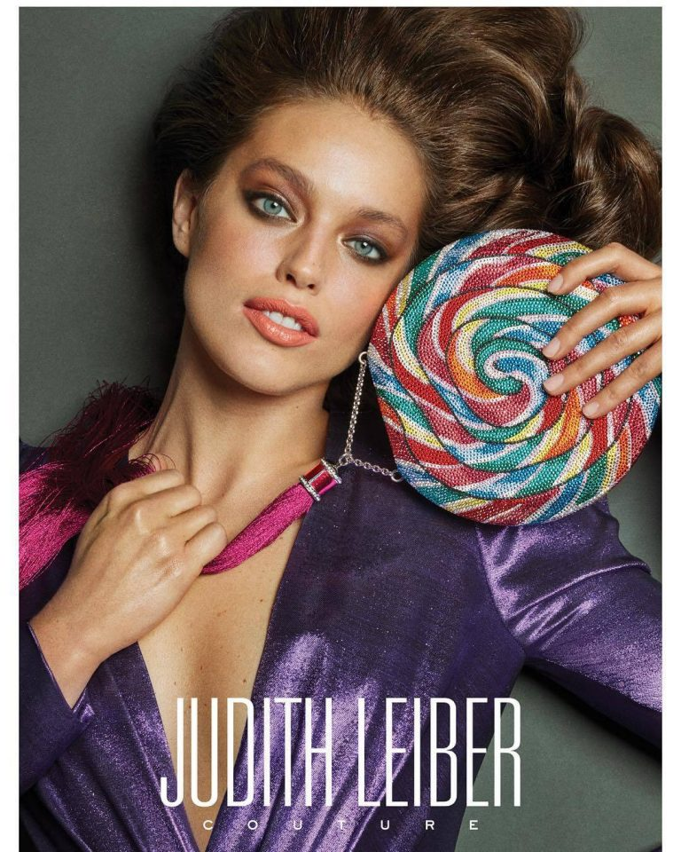 Emily DiDonato Photoshoot for Judith Leiber Campaign Photos - February 13, 2019 3