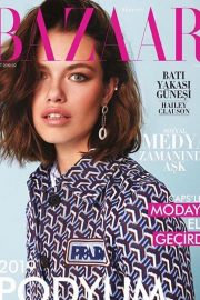 Hailey Clauson Cover Photoshoot fo Harper's Bazaar Turkey Magazine - February 2019 Issue 3