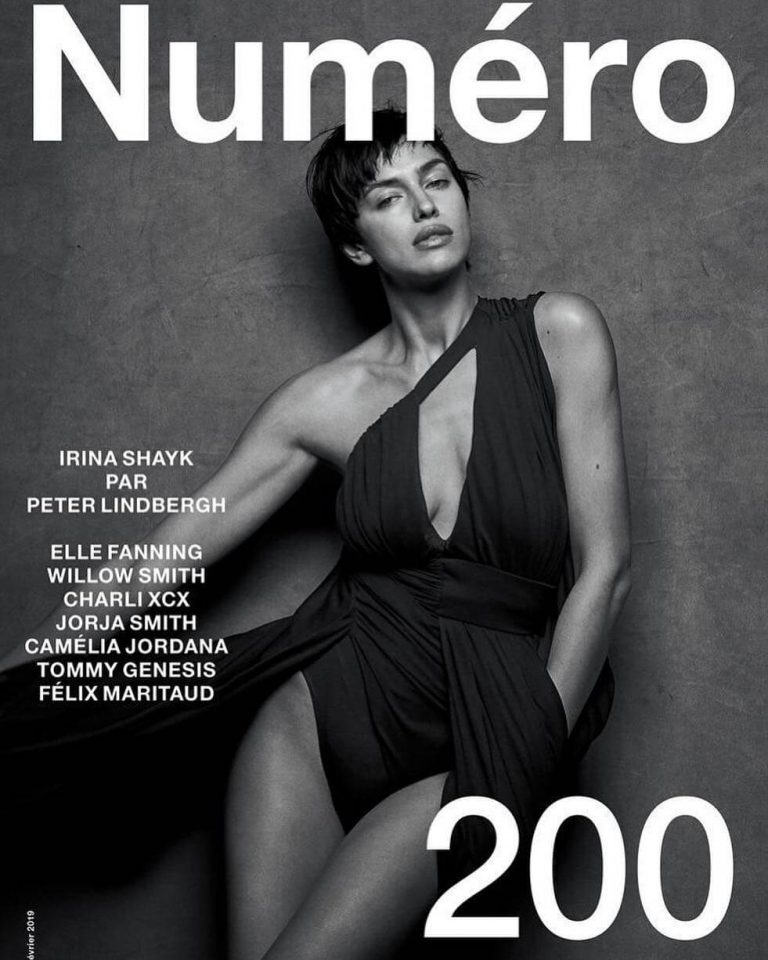 Irina Shayk Black and White Photoshoot for Numero 200 Magazine - January 31, 2019 1