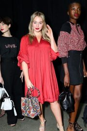 Iskra Lawrence walked SS19 runway in Red Dress by Rebecca Minkoff at NYFW 2019 - February 11, 2019 1