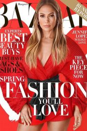 Jennifer Lopez for Harper's Bazaar Magazine Cover Photoshoot, February 2019 Issue 1