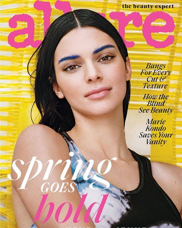 Kendall Jenner Cover Photoshoot for Allure Magazine, March 2019 issue 1