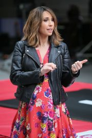 Alex Jones at The One Show in London 2019/04/26 10