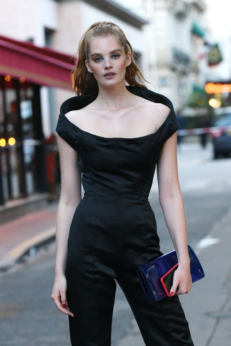Alexina Graham Arrives at Scandal by Jean-paul Gaultier Party in Paris 2019/04/24 1