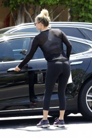 Ali Larter in Tights Out in Los Angeles 2019/04/26 5