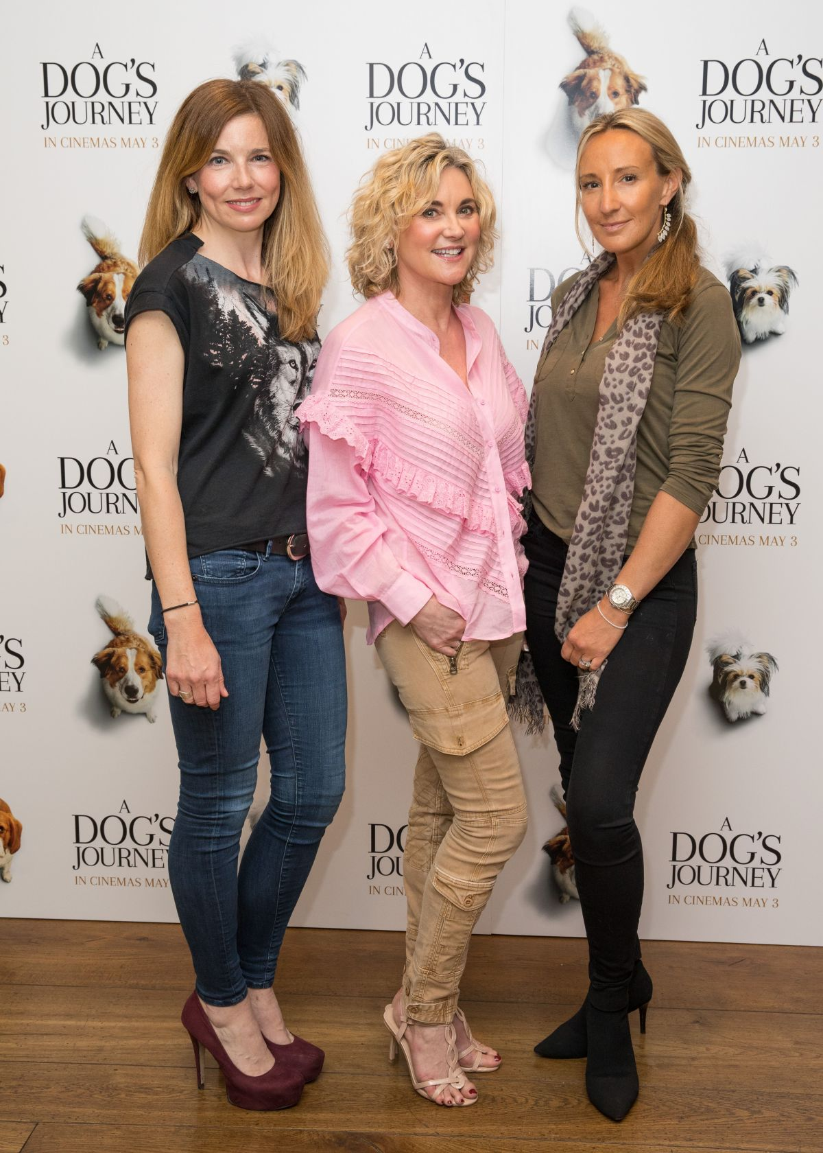 Anthea Turner at A Dog's Journey Premiere in London 2019/04/27 1