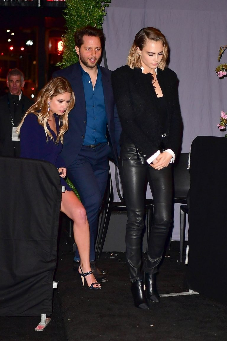 Ashley Benson & Cara Delevingne at 14th Annual Tribeca Film Festival Artists Dinner hosted by Chanel in NYC April 29, 2019 1