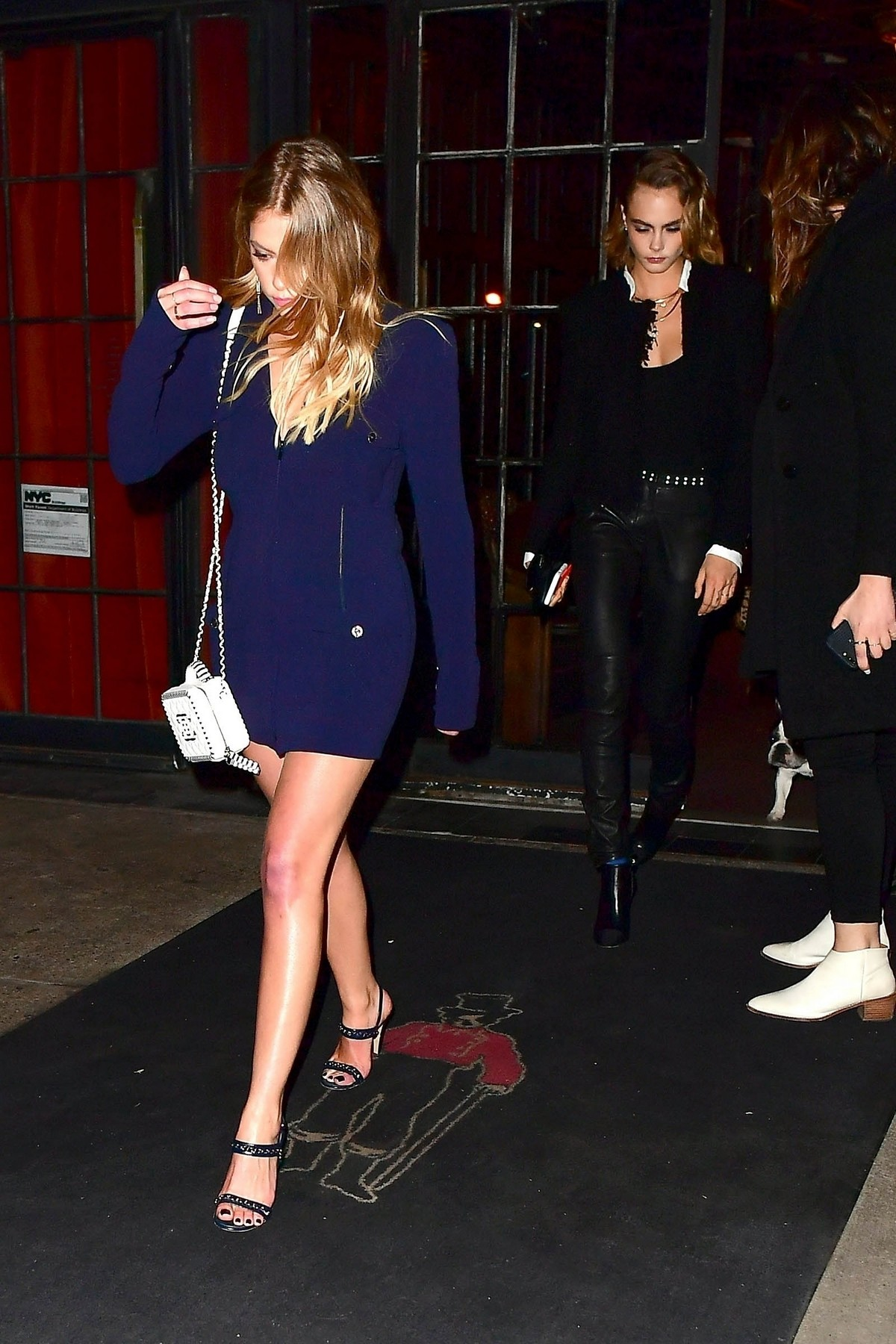 Ashley Benson & Cara Delevingne Night Out by Chanel in New York 2019/04/29 1