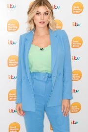 "Ashley James at ""Good Morning Britain TV Show in London 2019/04/26 11"
