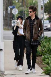 Ashley Tisdale and Christopher French in West Hollywood 2019/04/28 9