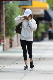 Ashley Tisdale Arrives at Training Mate in Studio City 2019/04/29 5