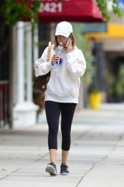 Ashley Tisdale Arrives at Training Mate in Studio City 2019/04/29 6